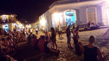 Nachtleben am Plaza Mayor
