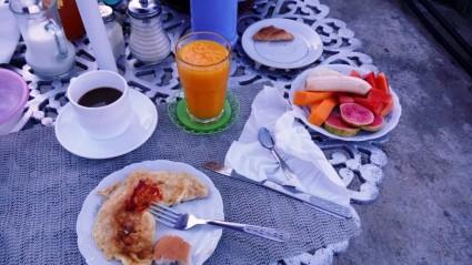 Grandioses Frühstück in meiner Casa Particular
