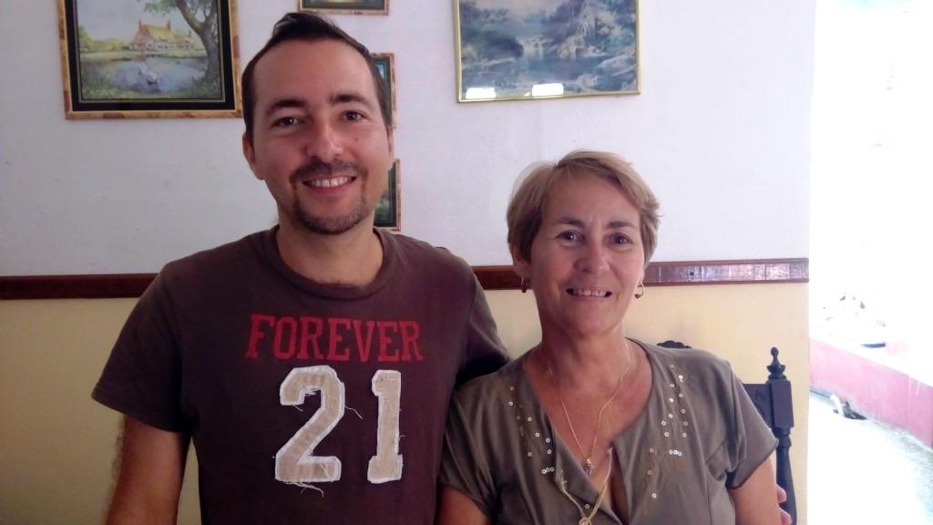 Meine Gastgeber Alayn y Lucia