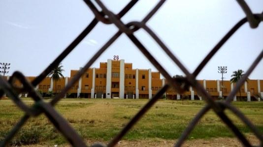 Moncada-Kaserne, heute eine Schule