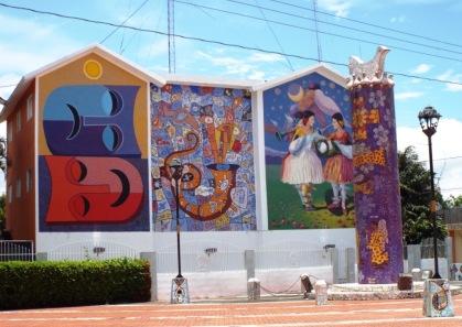 Fassade de Cándido-Bido-Museums in Bonao (2)