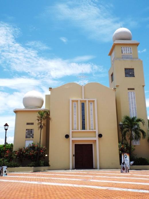 Iglesia San Antonio de Padua am Plaza de la Cultura in Bonao