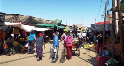 Markt in Nazca