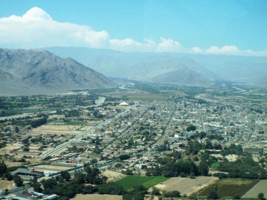 Nazca von oben