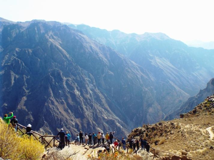 Kondor-Aussichtspunkt (Mirador Cruz del Cóndor)