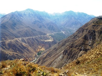 Blick in den Colca-Canyon