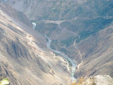 Der zweittiefste Canyon der Welt