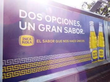 Inca Kola: 2 Optionen, 1 großartiger Geschmack - Naja!