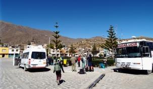 Zentraler Platz von Cabanaconde