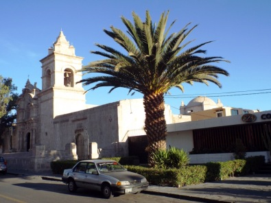 San-Juan-Bautista-Kirche am Plaza de Yanahuara
