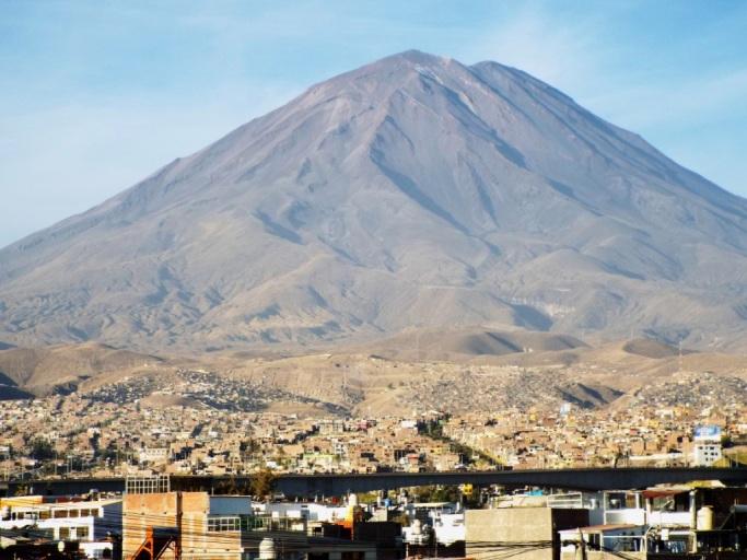 Aussichtspunkt Yanahuara auf El Misti