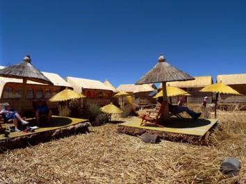 Die Khantati-Insel, unsere Übernachtungsstätte für eine Nacht