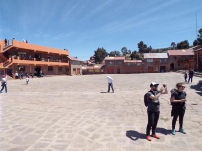 Plaza de Taquile