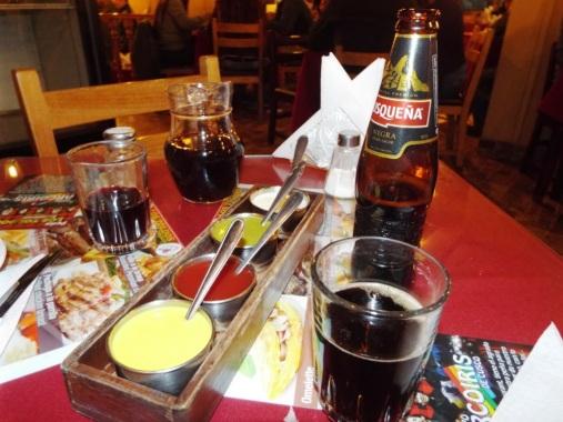 Saucen, Chicha Morada & Cuzco-Bier