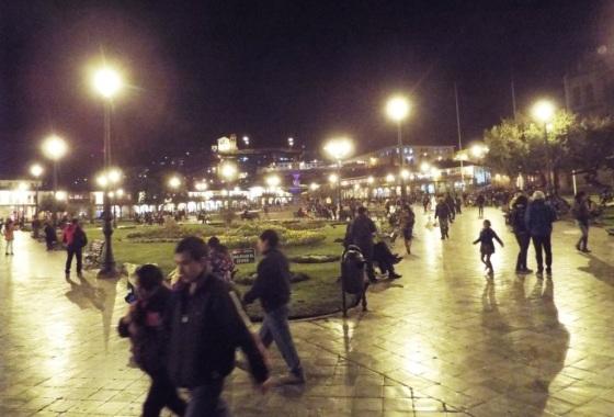 Plaza de Armas by Night