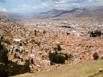 Cuzco von oben