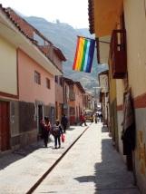 Straße vo Pisac