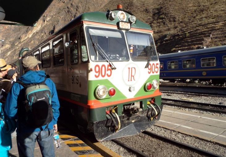 Inca Rail - Auf nach Aguas Calientes zum Machu Picchu!