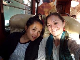 Im Touri-Luxuszug von Inca Rail