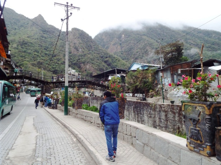 In Aguas Calientes
