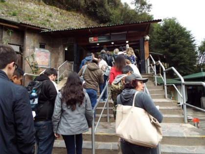 Eingang zum Machu Picchu