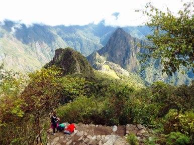 Hinauf zum Montaña Machu Picchu