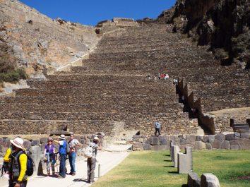 Inka-Ruinen von Ollantaytambo