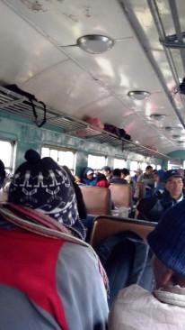 Zugfahrt von Huancayo nach Huancavelica