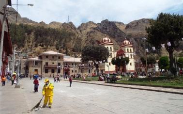 Plaza de Armas von Huancavelica
