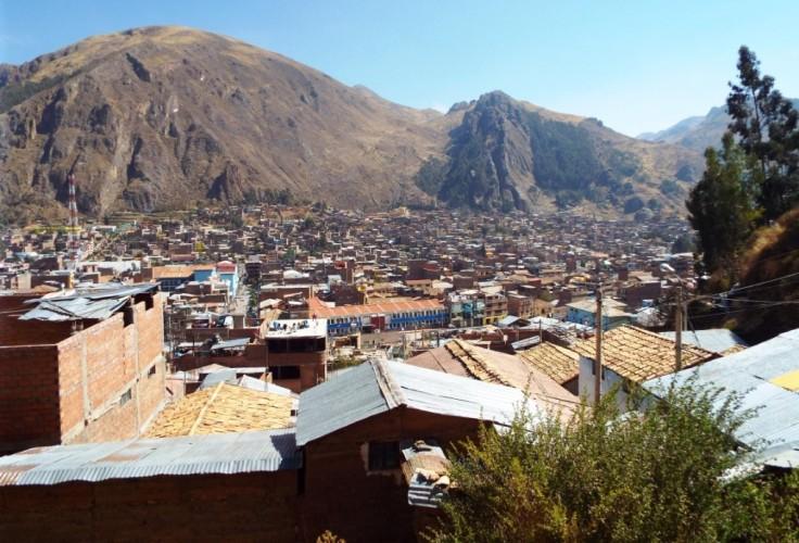 Huancavelica von oben