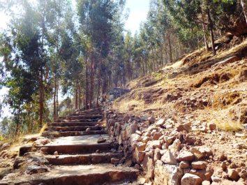 Aufstieg zu den Santa-Barbara-Minen