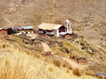 Das verlassene Dörfchen rund um die Santa-Barbara-Minen