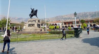 Plaza de Armas von Ayacucho