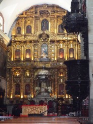Altar im Innern der Kathedrale