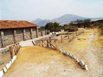 Wari-Ausgrabungsstätte bei Ayacucho