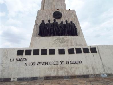 Denkmal für die Unabhängigkeitsschlacht gegen die Spanier