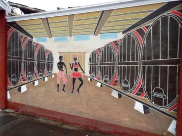 Das afroperuanische Erbe ist überall in Chincha sichtbar