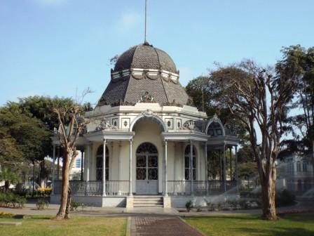 Pavillon im Parque de la Cultura