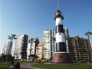Leuchtturm im Parque del Faro