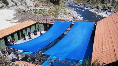 Heiße Quellen La Calera