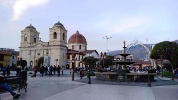 Hauptplatz von Huancayo