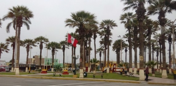 Hauptplatz des Distrikts El Carmen