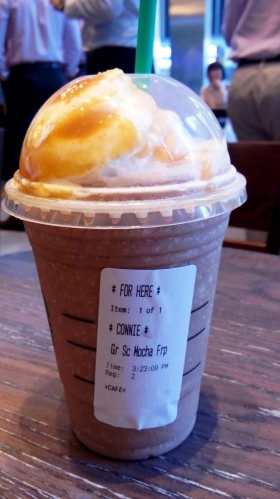 Starbucks-Eiskaffee nur für mich! ;)