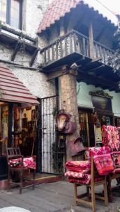 Urige Gasse in Miraflores