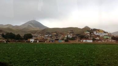 Umgebung Limas - noch etwas grün ...