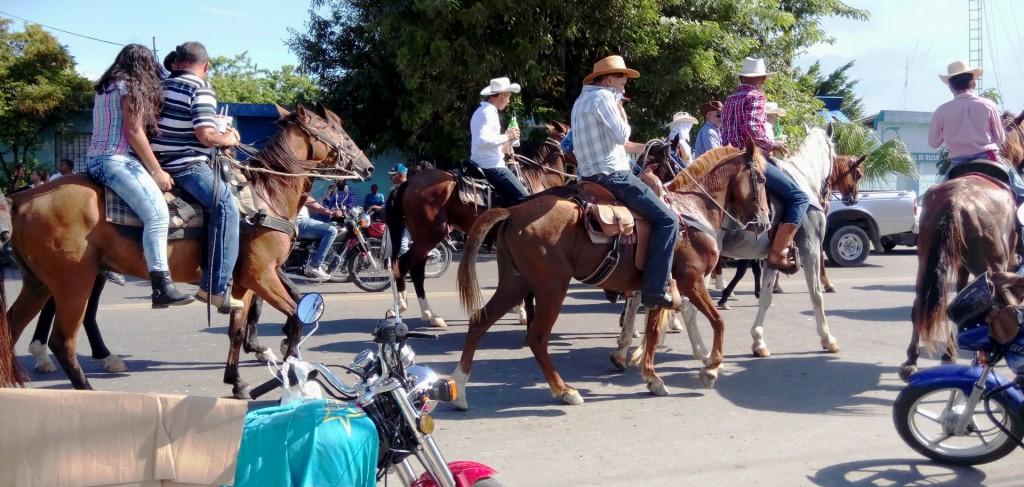 Cowboys in La Vega