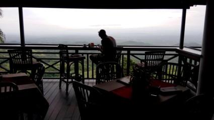 Kaffeetrinken mit toller Aussicht bei Moca
