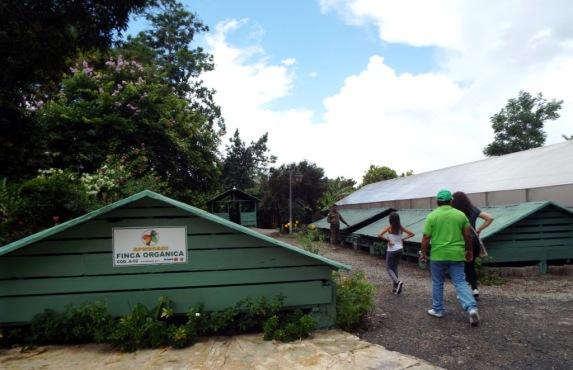 Trockenhäuser für Kaffee- und Kakaobohnen