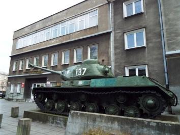 Huch, ein Panzer!