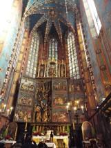 Hochaltar in der Marienkirche